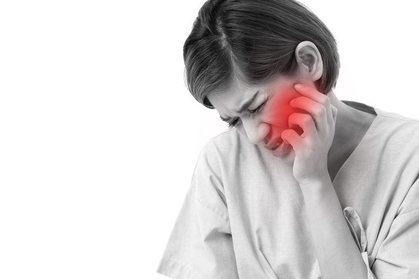 Ból twarzy spowodowany zespołem Costena