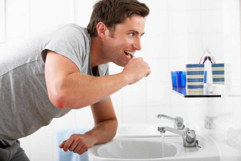 Intensywne mycie zębów